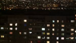 Windows Of Light Light In The Windows Of A Multistory Building Minsk Time Lapse