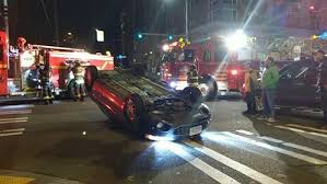 west seattle blog u2026 update car flips after collision in the