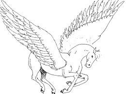 flying unicorn printable coloring pages kids boys girls