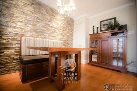 banquette cuisine sur mesure table de cuisine en merisier avec banquette meubles sur mesure