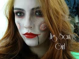 Jigsaw Halloween Makeup Make Jigsaw Youtube