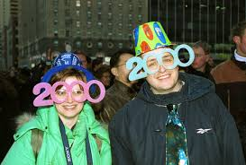 2000 new years the millennium photographic images new years times square