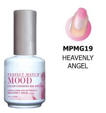 lechat heavenly angel perfect match mood color changing gel polish
