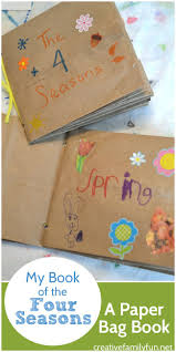 creative writing paper template best 25 paper bag crafts ideas on pinterest paper bag puppets my book of the four seasons a paper bag book this fun craft for