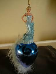 lovely blue marilyn ornament ashton