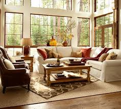 Pottery Barn 3 Piece Sectional Living Room Ideas Pottery Barn Living Room Ideas Comfort