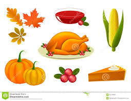 set of thanksgiving icons stock vector image of turkey 34139901