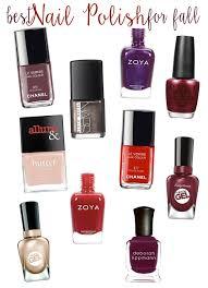 top 10 best fall nail colors beauty tips pinterest fall nail