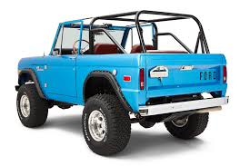 blue bronco car early model ford bronco builds classic ford broncos