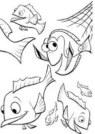finding nemo coloring pages pdf baby boy