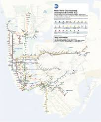 New York City On A Map by Above Ground Subway Service Shutting Down At 4 P M Bus Service