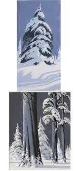 eyvind earle christmas cards of the crop marks eyvind earle set 1
