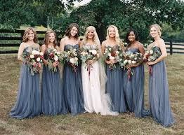 blue gray bridesmaid dresses best 25 grey bridal ideas on diy decorations
