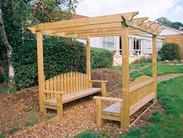 Pergola Ideas Uk by Pergola Bench Playground Seating Hand Made Places