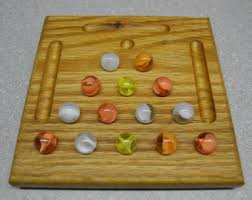 cracker barrel table game triangle peg game etsy