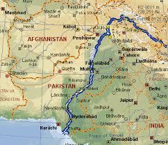 sukkur map indus river map locator