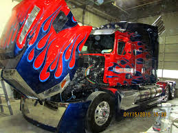 optimus prime custom graphics paint pacific truck colors