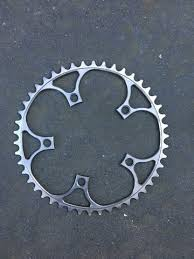 titanium chain rings images Early boone titanium chainring bcd 110 retrobike jpg