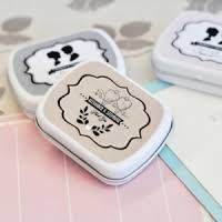 mint to be favors wedding mint tins personalized mint tin favors wedding favors