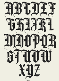 old english lettering old english lettering tattoos high