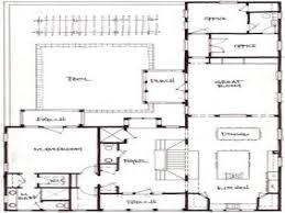 100 courtyard house plans u shaped best 10 internal