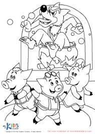 99 ideas 3 pigs coloring pages gerardduchemann