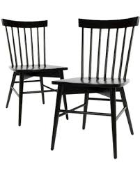 Threshold Chairs Amazing Deal On Windsor Dining Chair Black Set Of 2 Threshold