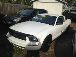 2007 ford mustang deluxe 2007 ford mustang v6 deluxe 2dr coupe in port orange fl harbor
