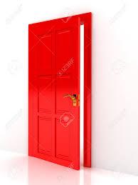 Red Door 2 449 Door Opening Cliparts Stock Vector And Royalty Free Door