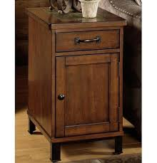 null furniture chairside table null furniture 3013 3013 22 end table with drawer and door dunk
