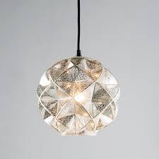 prism framed mercury glass chandelier light shades of fair image