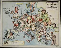 World War One Map by Make Laugh Not War 8 Satirical Maps From World War One Made