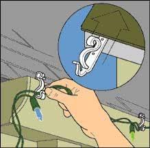 how to install christmas lights to hang christmas lights
