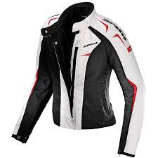 white motorbike jacket sport lady h2out jacket white jackets waterproof spidi dainese