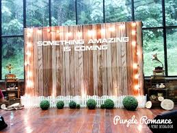 Wedding Backdrop Kl Wooden Rustic Backdrop At Glasshouse Seputeh Kl Malaysia Purple