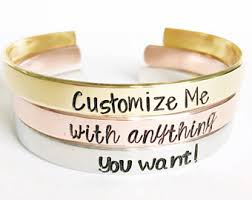customizable jewelry salted by jen etsy