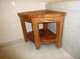 Wood Shower Stool Small Teak Shower Stool Ideas Invisibleinkradio Home Decor