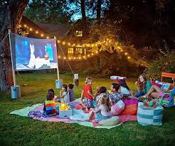 7 easy tips for backyard movie theater home design and interior