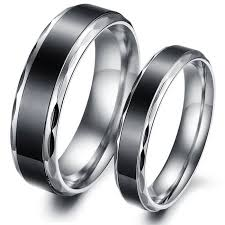 vintage titanium rings images Matching titanium wedding bands vintage titanium stainless steel jpg