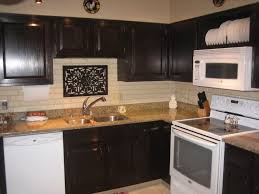 how to stain old kitchen cabinets modern white l shape wooden