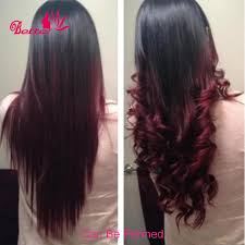 Brazilian Extensions Hair by Sale Ombre Brazilian Hair Straight 3 Bundles Grade 7a Ombre Human