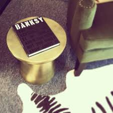 inspiration banksy coffee table book for home decoration for