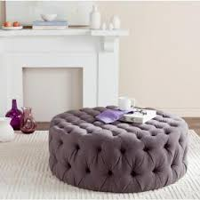 safavieh charlene taupe tufted ottoman mcr4638a the home depot