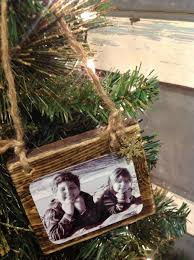 Semi Ornaments Wood Scrap Photo Ornaments Rustic Wood Wood Signs And