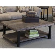 Wood Coffee Table Reclaimed Wood Coffee Tables You Ll Wayfair