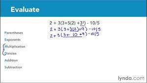 order of operations parentheses and exponents