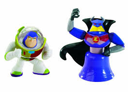 toy story color splash buddies zurg iconic buzz 2 pack