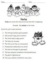 no prep halloween grammar worksheets october speech therapy