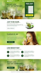 weight loss html landing page designs to boost conversion rate