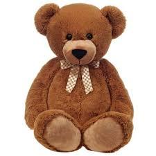 teddy bears big brown stuffed teddy 38 inch plush cuddler by